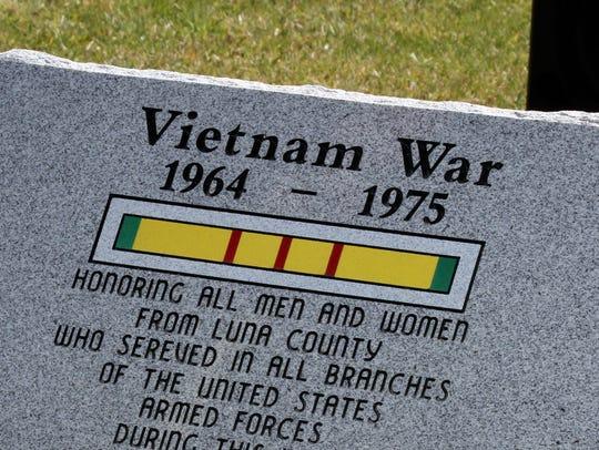 This new monument recognizing Luna County Vietnam veterans