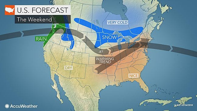 Warm, sunny weather is expected to sail into the Lower Hudson Valley this weekend.