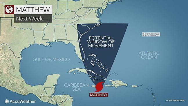 National Weather Service Meteorlogist Bill Goodman said it's too early to tell if the Lower Hudson Valley will be impacted by the slow-moving Hurricane Matthew.