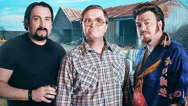 "Kook's tour: Canadian TV comics ""Trailer Park Boys"" are shooting a series episode in Memphis."