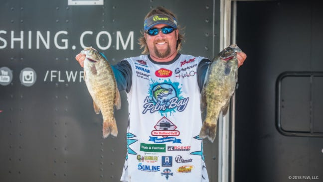 JT Kenney, a national bass tournament pro from Palm Bay, will be among the 56 qualifiers in the Aug. 10-12 FLW Tour Forrest Wood Cup championship at Lake Ouachita near Hot Springs, Ark. One of Kenney's major sponsors is Fish Palm Bay, a promotion for the area's sportfishing.