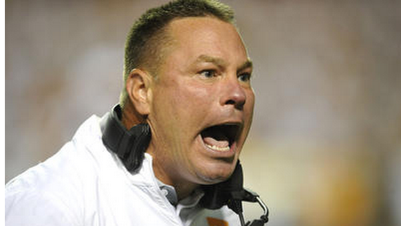 A loss to Arkansas would further damage Butch Jones'