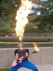 The Hub City Theatre Festival on Aug. 6 in downtown New Brunswick will include fire jugglers.