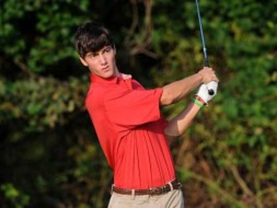 Jacob Stockl, a rising senior from A.L. Johnson in Clark, highlighted his junior campaign with a 4-under 138 to win the 90-player Rutgers Invitational last fall. (Photo courtesy of Rutgers Athletics)