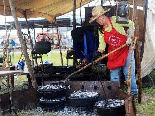 The Cowboy Cookoff competition is one of the biggest events  at the annual Western Heritage Classic.
