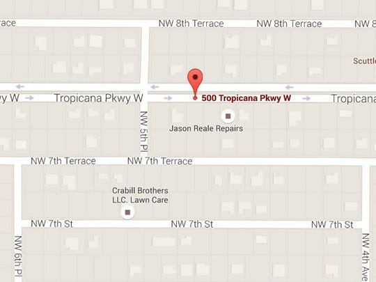 Police are investigating a shooting and car burglary in Northwest Cape Coral on Monday, May 23, 2016.