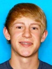 Caleb Diehl, last seen March 2015.