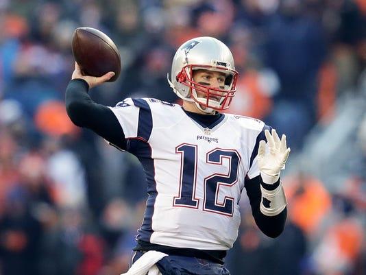 USP NFL: NEW ENGLAND PATRIOTS AT DENVER BRONCOS S FBN USA CO
