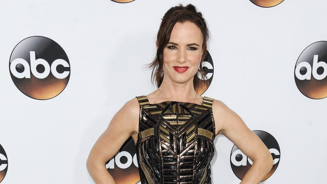 """Juliette Lewis (shown Jan. 14, 2015, in Pasadena, Calif.) plays a detective on the ABC series """"Secrets and Lies"""" airing Sunday evenings."""