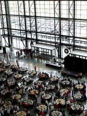 After 11 years at the Lambeau Field Atrium, Christian Outreach Ministry's annual Thanksgiving dinner will move to the KI Convention Center in downtown Green Bay.