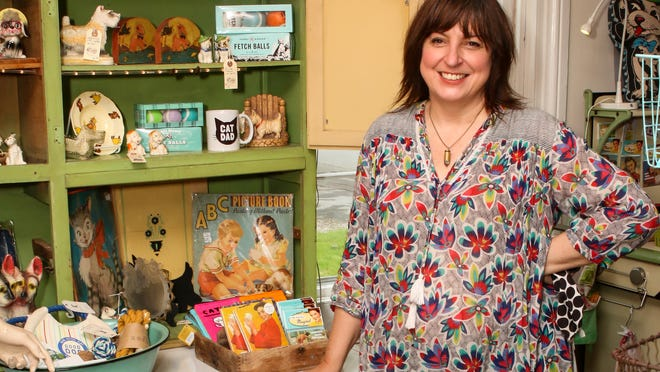 Christine Francis is the owner of Carmen and Ginger on Main Road in Tiverton.
