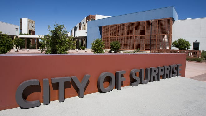 Surprise voters can drop off their ballot at the City Clerk's office on Monday or Tuesday