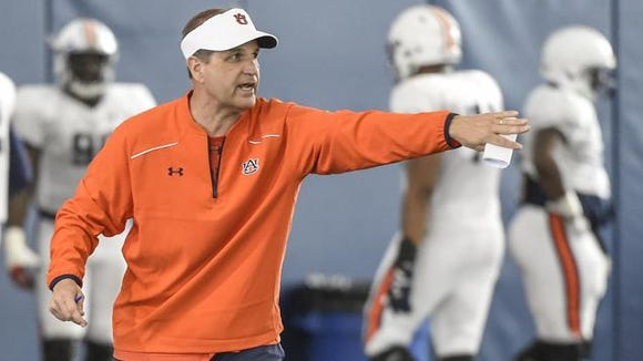 Kevin Steele is in his first year as Auburn's defensive