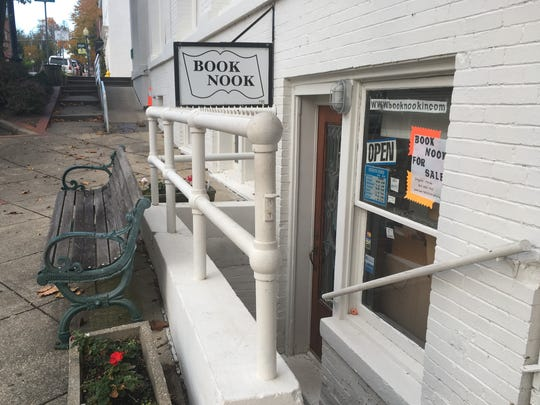 The Book Nook in Newburgh is now up for sale.