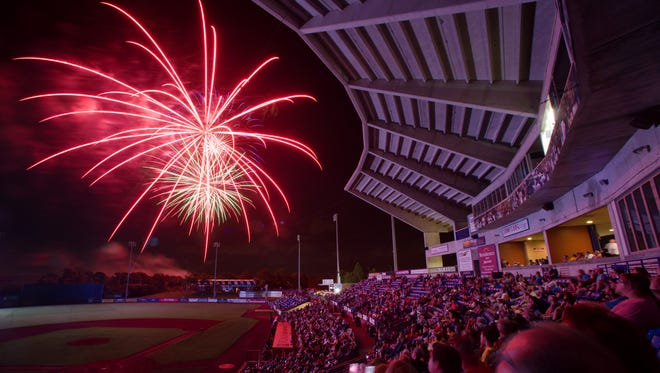 A fireworks show will follow the Charlotte at St. Lucie game Tuesday at First Data Field in Port St. Lucie. Game time is 6:30 p.m.,