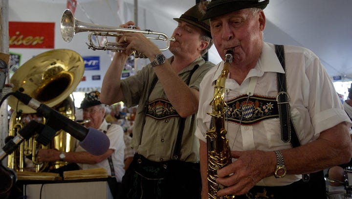 Free admission to Cape Coral Oktoberfest on Sundays with 3 disaster relief donations