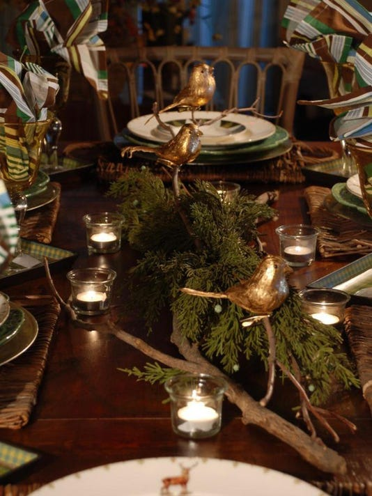 Style Easy Quick Holiday Centerpiece Ideas