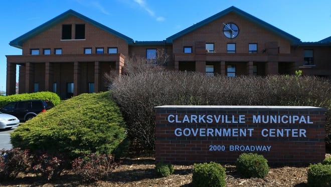 Clarksville's Town Municipal Center at 2000 Broadway Street.