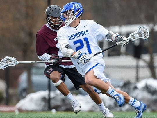 Salesianum graduate A.J. Witherell, a junior at Washington and Lee, has been named Old Dominion Athletic Conference Men's Lacrosse Player of the Year for the second straight season.