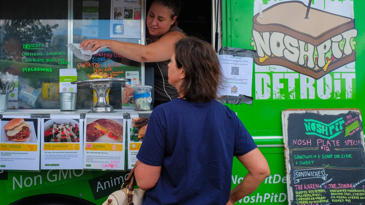 See what it's like to have 50 food trucks in Meridian Township