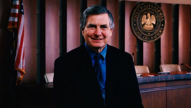 """Edward G. """"Ned"""" Randolph Jr. served as mayor of Alexandria from 1986 to 2006. He passed away Tuesday morning at the age of 74."""