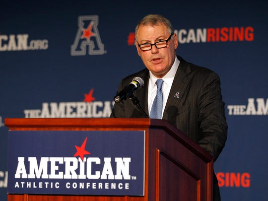 American Athletic Conference commissioner Mike Aresco