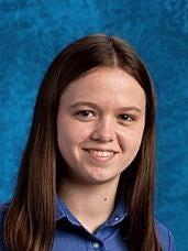 Michelle Bitter is valedictorian of Covington Latin School class of 2016.