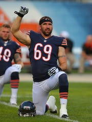Chicago Bears linebacker Jared Allen.