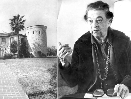 Caller-Times archivesLeft: Ada Wilson's home on Ocean