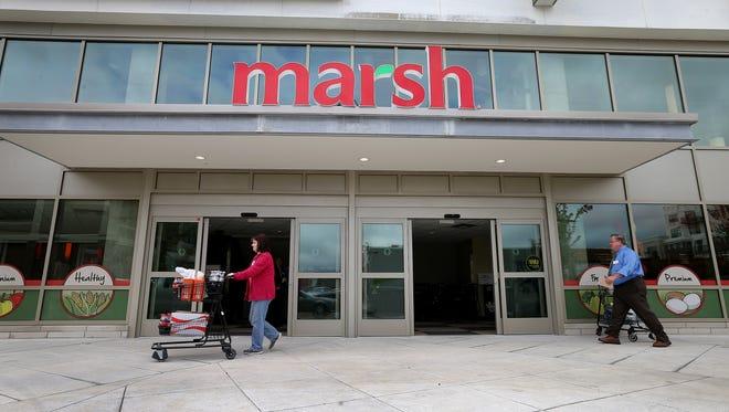 Marsh recently closed all of its 37 pharmacies and stopped selling liquor.