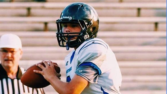 Smoky Mountain QB Nate Coffey became the first WNC quarterback to throw for over 2,000 yards this year.