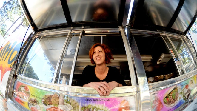 Ange Posey recently bought a new food truck and is going to get her Some Like it Hot back in business.
