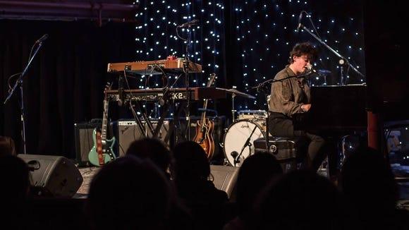 Shenandoah Davis plays at SpaceCraft at Rolling Bay Hall on Bainbridge Island on Feb. 6.