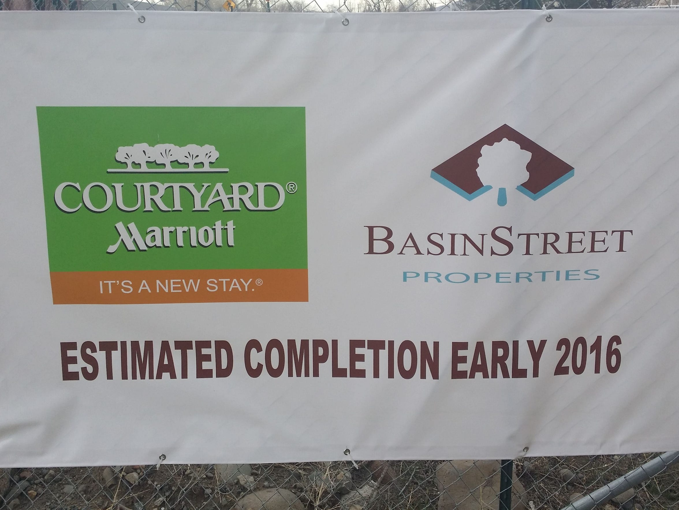 A Courtyard by Marriott is planned in downtown Reno