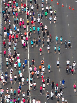 Marathoners need to prepare well to avoid injuries during the long race.