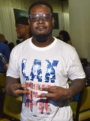 Singer T-Pain attends day 2 of the Radio Broadcast Center during the BET Awards '14 on June 28, 2014 in Los Angeles, California.