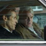 "Willem Dafoe and Philip Seymour Hoffman star in ""A Most Wanted Man."""