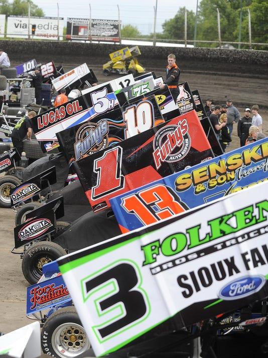 Husets Speedway - 410 sprint cars