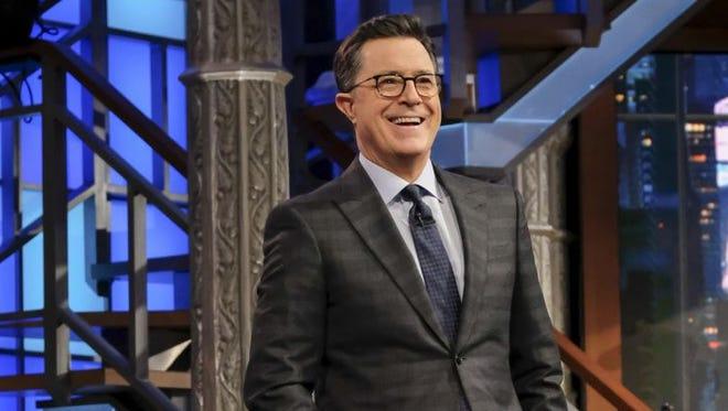 'Late Show' host Stephen Colbert.