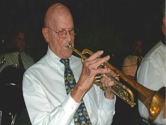 Elmer Hayes, a founder of the Hayes Boys Orchestra, which will perform at the 'Musical Tribute to Romy Gosz' concert March 19 in Two Rivers.
