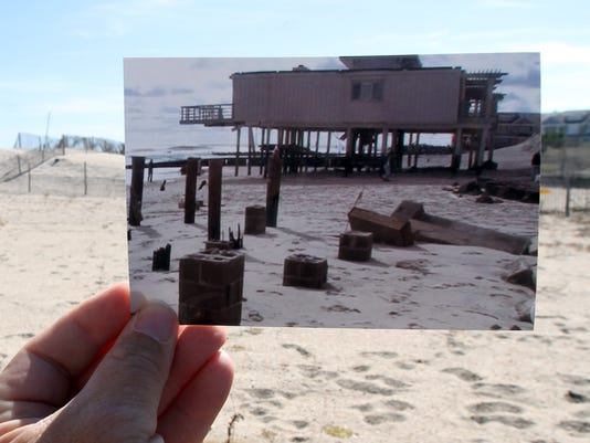 SANDY THEN & NOW