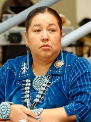 Navajo Nation Council Delegate Amber Kanazbah Crotty has filed to seek re-election to her seat.