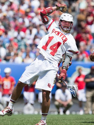 Wesley Berg sparked Denver to its first NCAA Division I men's lacrosse title on Monday. He was named the tournament most outstanding player after a five-goal outburst in the final.