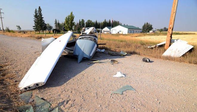 A man survived a plane crash near Fairfield on Wednesday.