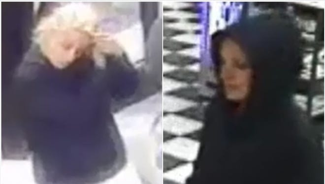 Las Cruces Crime Stoppers is offering a reward of up to $1,000 for information that helps identify the woman suspected of using a stolen credit card at multiple locations in late April.Las Cruces Crime Stoppers is offering a reward of up to $1,000 for information that helps identify the woman suspected of using a stolen credit card at multiple locations in April 2018.