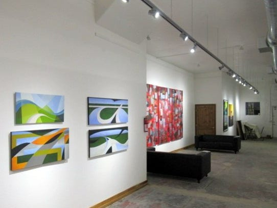 The Liminia Gallery's opening night coincided with