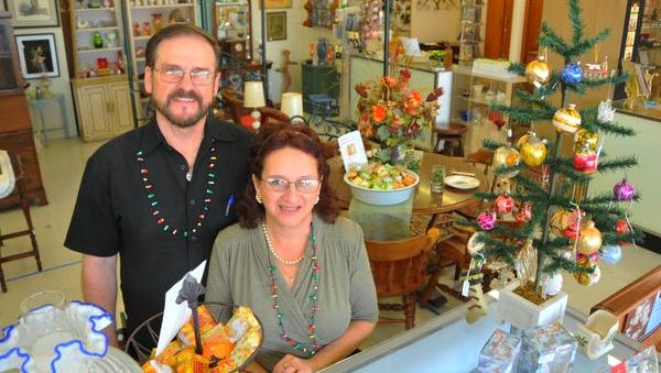 Lisa and Henryk Olender have opened the Indian River Antique mall in the Melbourne Shopping Center, just south of Melbourne High School.