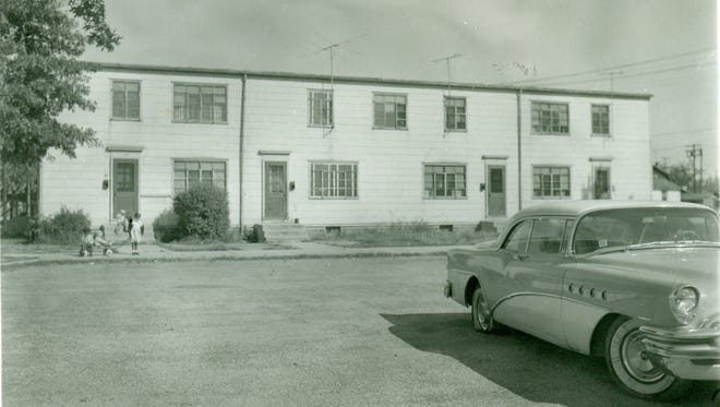 Burlington City's Dunbar Homes were built as a public housing project for black families in the 1940s.