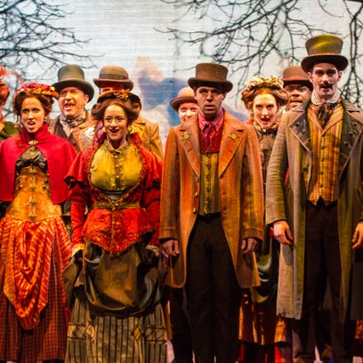 DTC's 'Something Wicked:' Dazzling theatrical rocket ride
