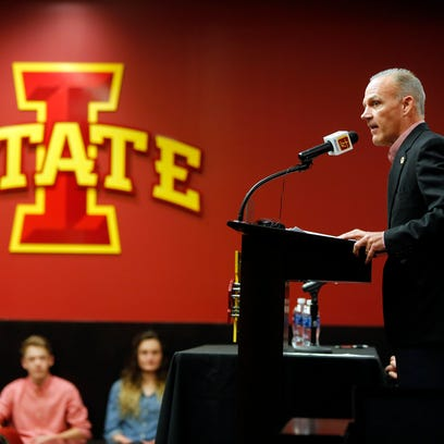New Iowa State wrestling coach Kevin Dresser speaks